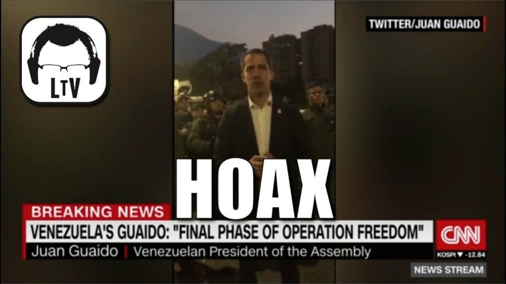 """CNN Called Out For """"Fake News"""" From Venezuela"""